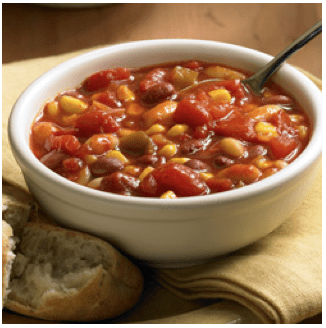 Two-Bean Vegetable Chili Recipe – Add Fiber & Protein to Your Meals!
