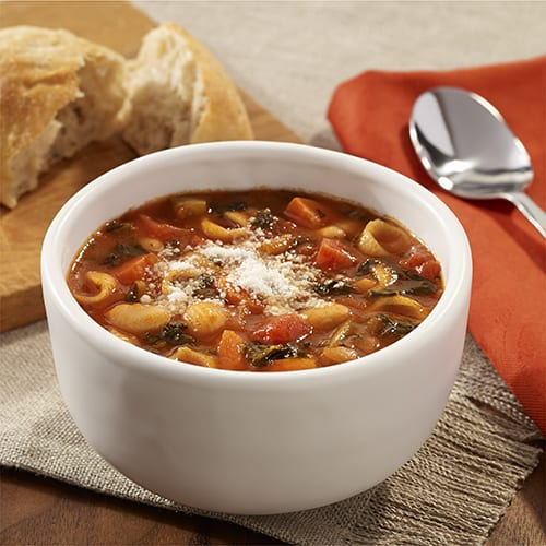 Minestrone Soup-white beans