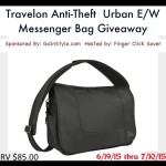 Travelon Anti-Theft Urban Messenger Bag
