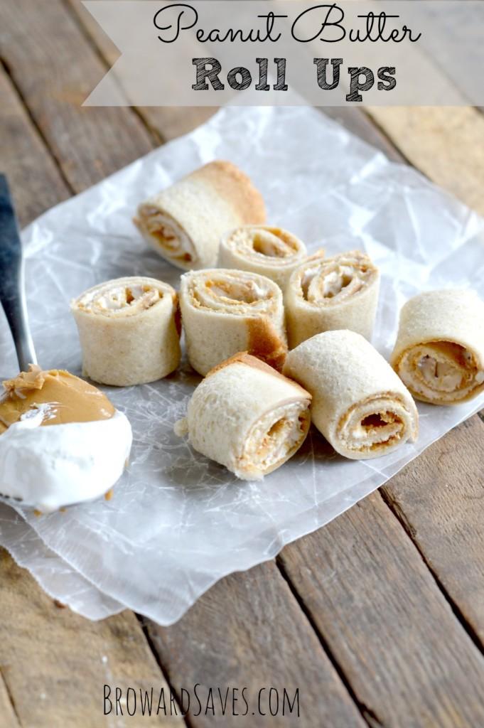 peanut butter roll ups
