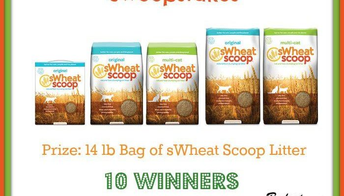 Naturally sWheat Scoop Cat Litter Wonder – 10 Winners Giveaway