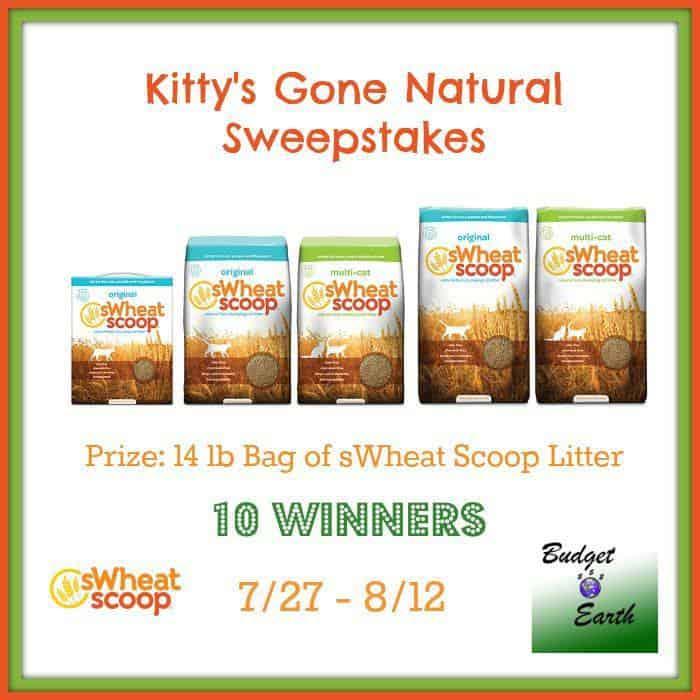 sWheat Scoop cat litter