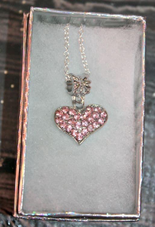 smitco heart necklace