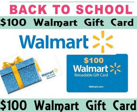 Win $200 Walmart Gift Card in Mega Blogger Giveaway