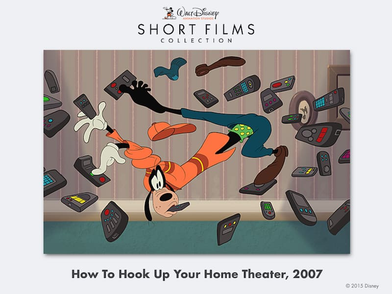 disney shorts How-To-Hook-Up