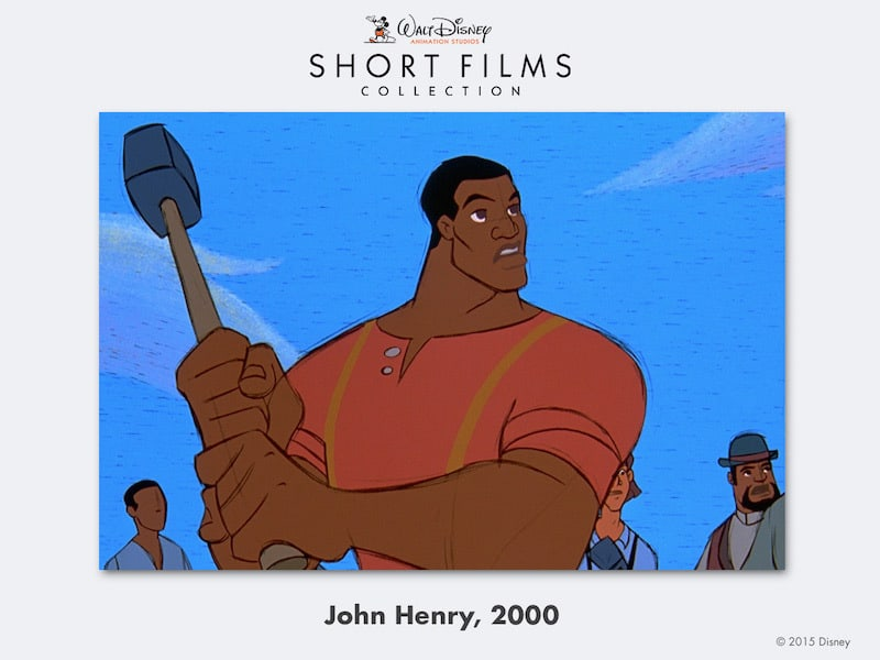 disney shorts John-Henry_new