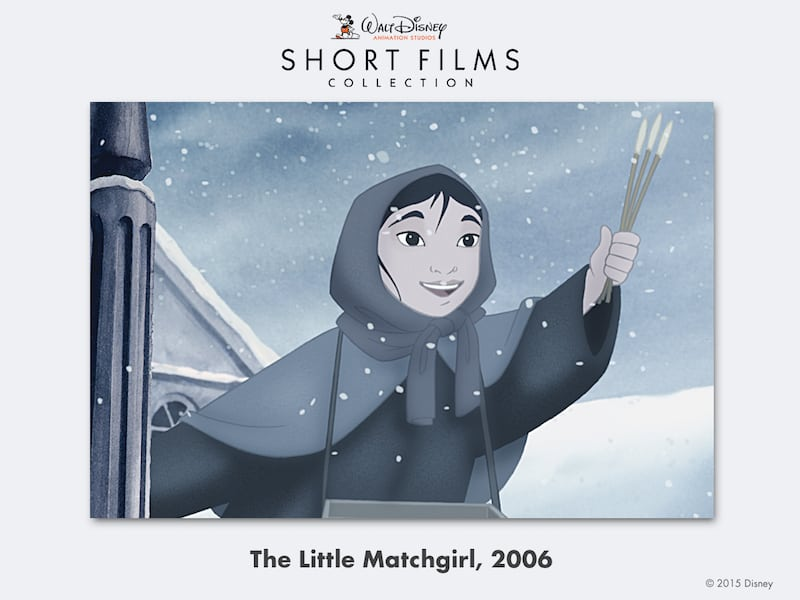 disney shorts Little-Matchgirl