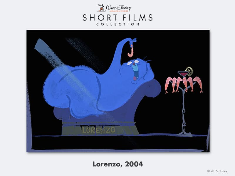 disney shorts Lorenzo