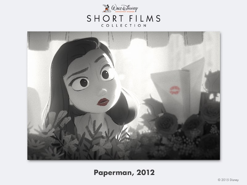 disney shorts Paperman