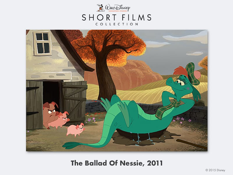 disney shorts The-Ballad-Of-Nessie