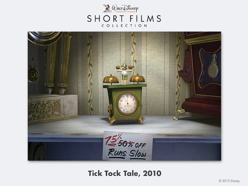 disney shorts Tick-Tock