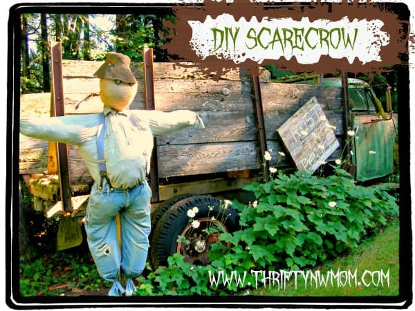 diy scarecrow
