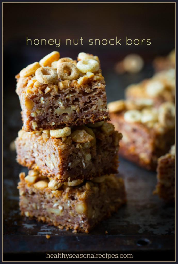 honey nut snack bars
