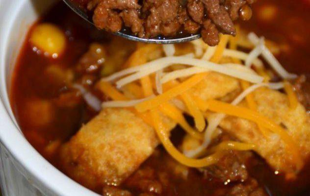 Slow Cooker Taco Soup Recipe #12DaysOf #RecipeIdeas