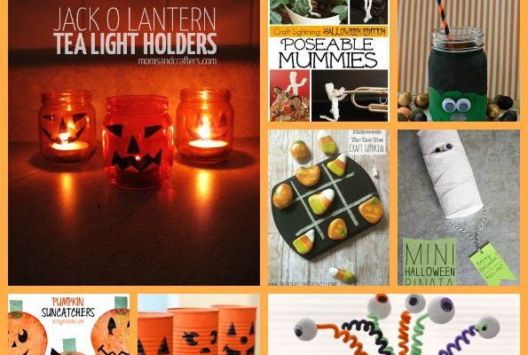 10 Halloween Crafts Your Kids Will Love #Halloween #DIY
