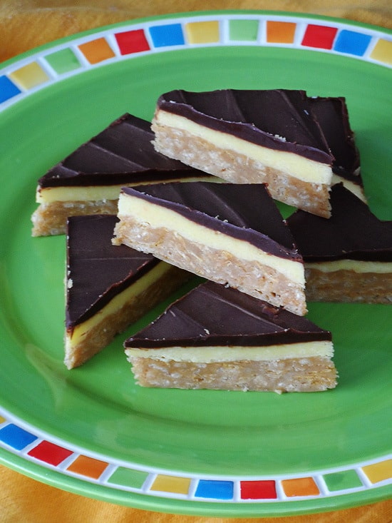 no bake peanut butter pudding bars