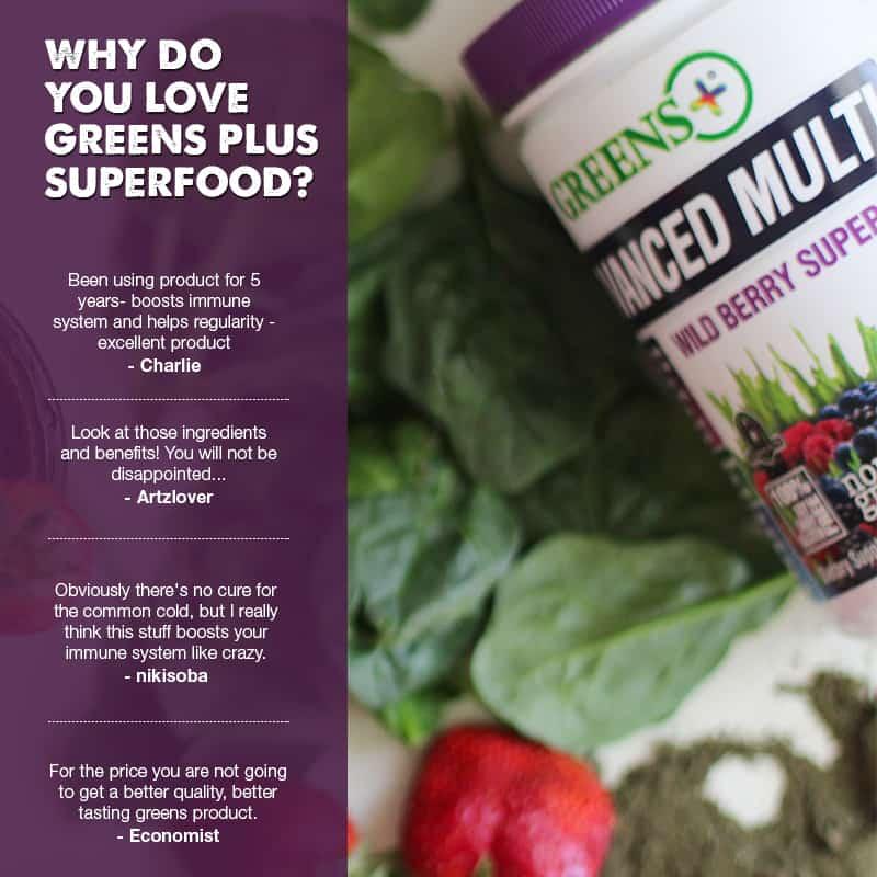 GreensPlus powder superfood