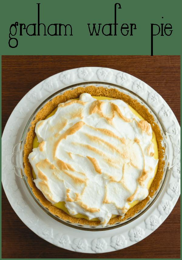 graham wafer pie