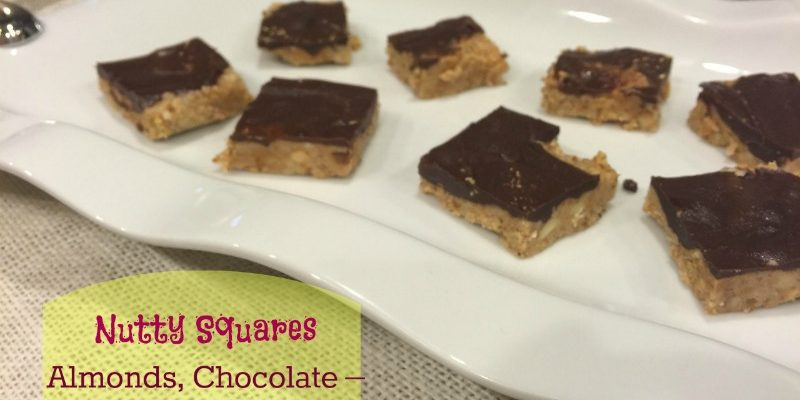 Nutty Squares – A Perfect Sweet Snack