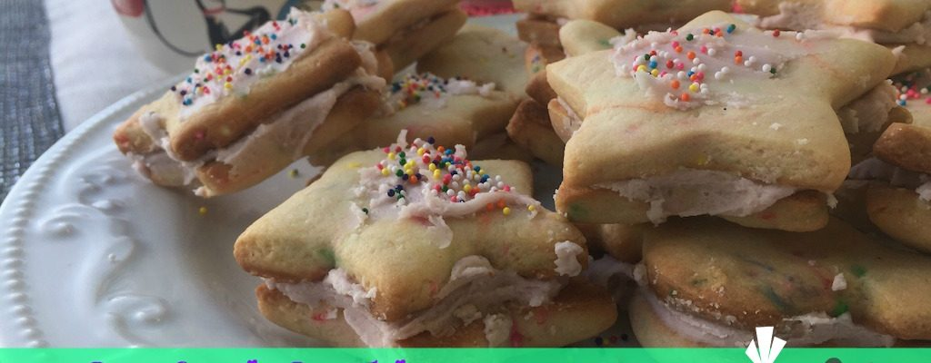 Confetti Cookies – Gluten FREE – Or You Can Make Them With Regular Flour