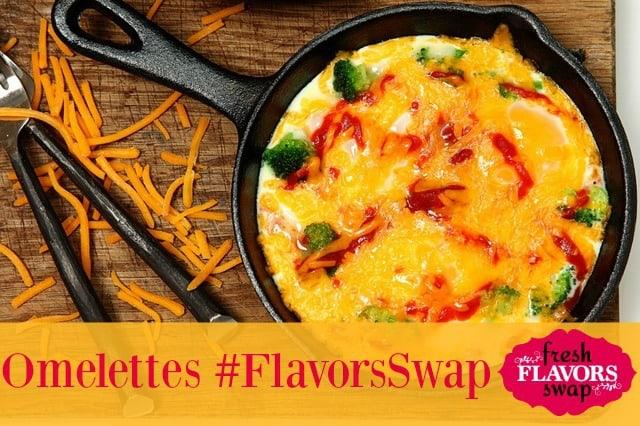 Omelettes-fresh flavors Swap