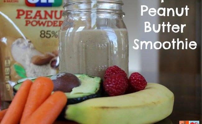 Boost Your Day With Peanut Butter Smoothie #12DaysOf #RecipeIdeas