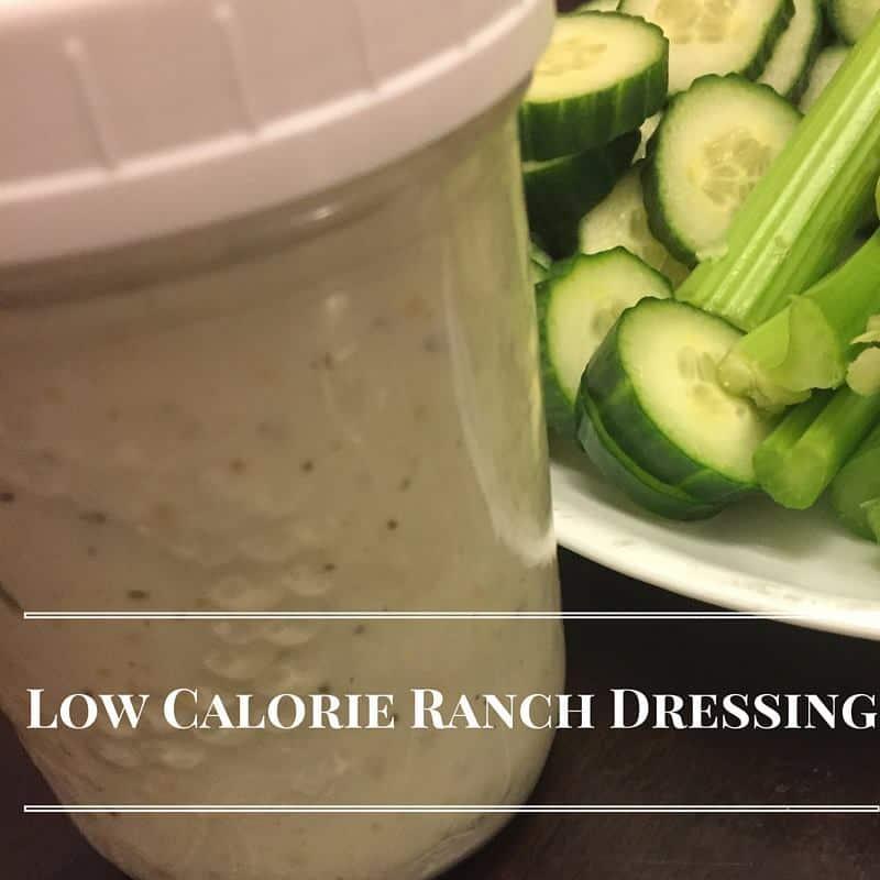 low calorie dressings