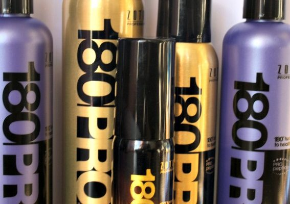 Repair Damaged Hair With Zotos 180PRO Hair Care Line!