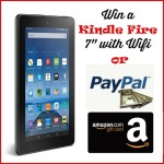 Choose Your Prize: Kindle Wi-Fi, Amazon or PayPal