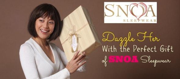 Comfort + Luxury Is SNOA Sleepwear for Women! #MyValentine Unique Gift Ideas