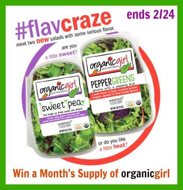 Organicgirl salad products