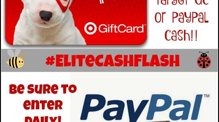 $45 Target Gift Card or PayPal Cash