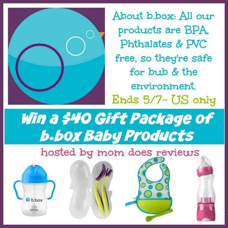 $40 Gift Package of b.box Baby Products