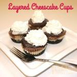 Layered Cheescake Cups Recipe #RecipeIdeas