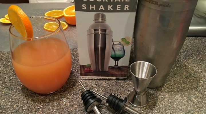 Shake Up Any Delicious Drink With Silver Grade Cocktail Shaker Kit
