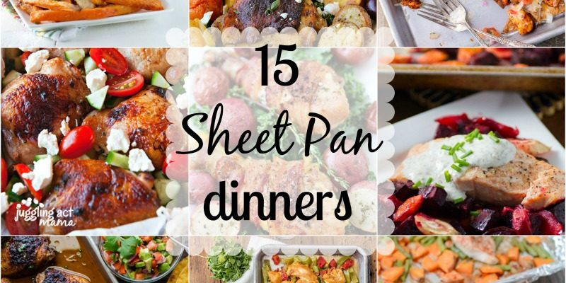 15 Sheet Pan Dinners You Cannot Ignore #HeartThis