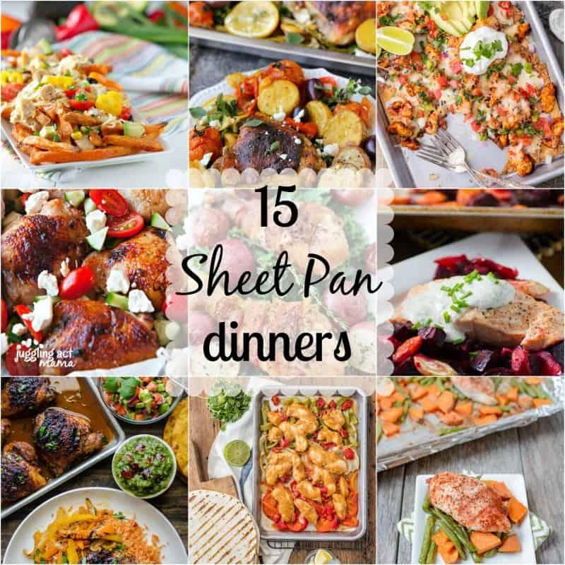 sheet pan dinners, recipes