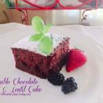 Double Chocolate  Beet & Lentil Cake #RecipeIdeas for Summer