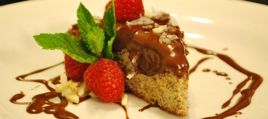 Honey-Almond Torte with Chocolate Ganache Recipe Of The Day