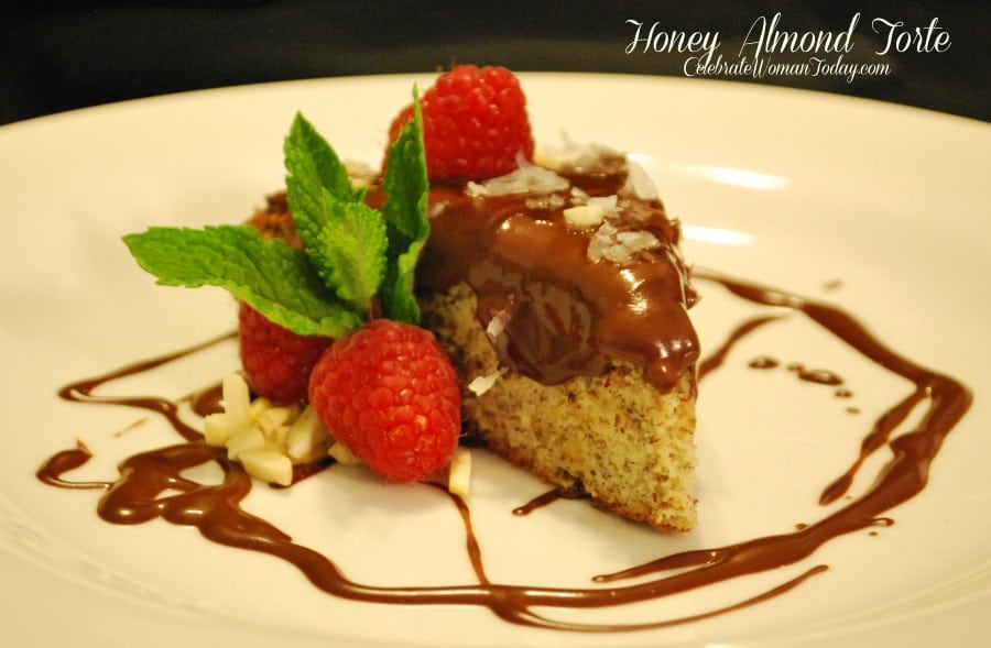 Honey Almond Torte recipe