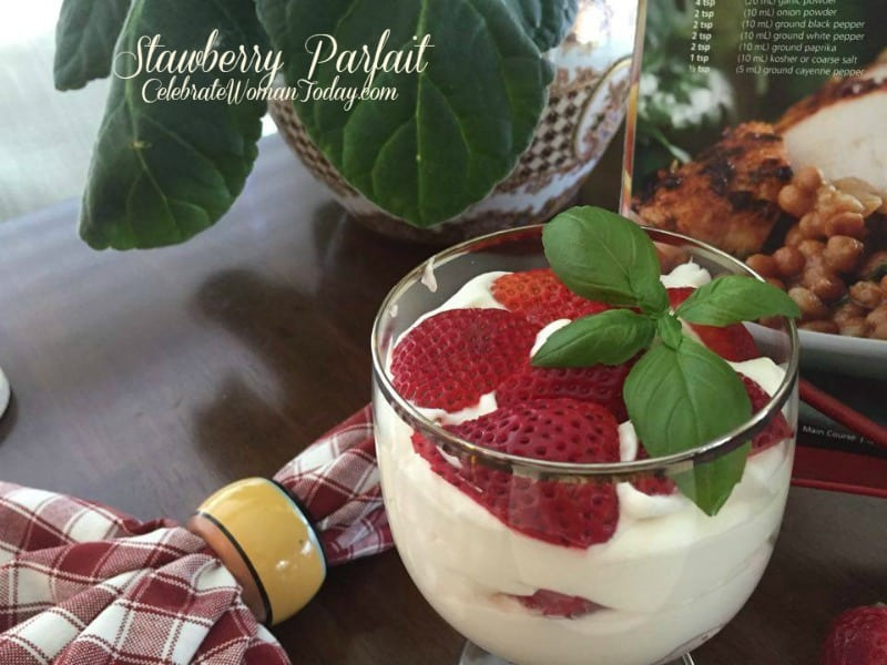 Quick Dessert For Your Occasion – Strawberry Parfait