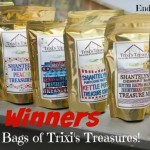 Trixis Treasures snacks