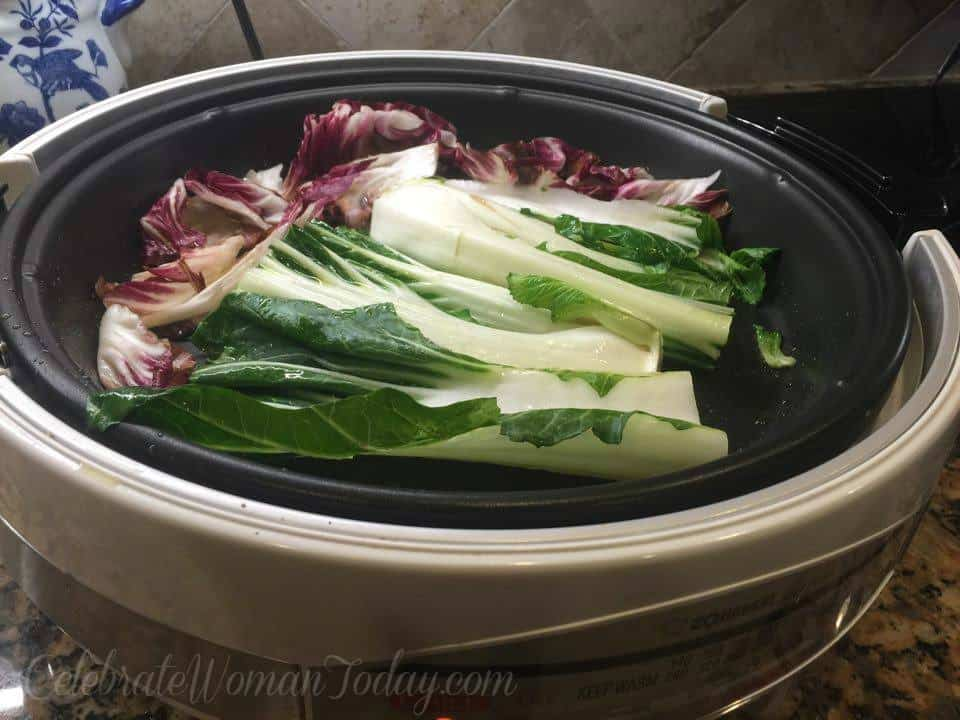 Bok Choy Grilled