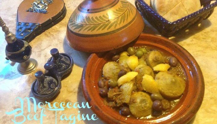 Moroccan Beef Tagine with Fennel And Artichokes Bottoms