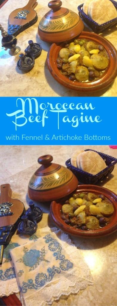 Moroccan Beef Tagine easy recipe