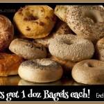 new york bagels, water bagels