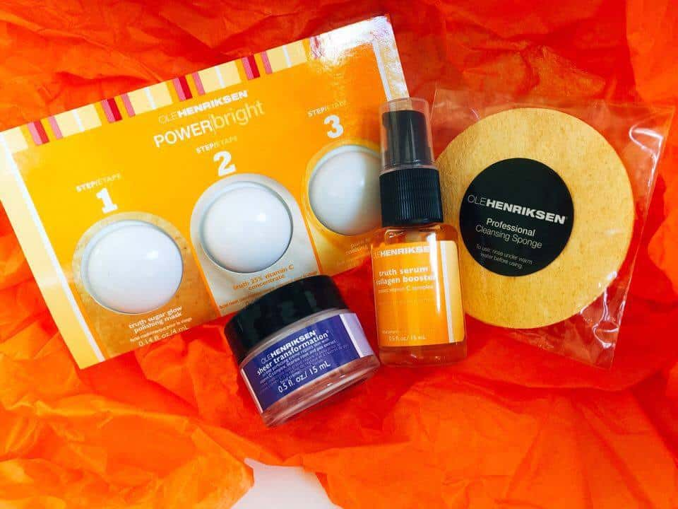 ole henriksen skin care, vitamin c serum, vitamin c creme, anti wrinkle