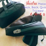 shiatsu massager, neck massager, back massager, truMedic massager
