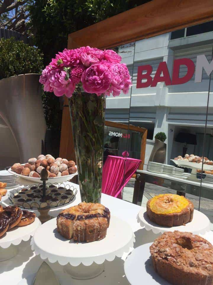 bad moms movie, press junket, travel, sls hotel