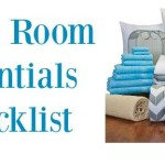 dorm room essentials, college room